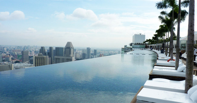 Singapore alla scoperta dello scalo perfetto il sole 24 ore for Piscina singapore