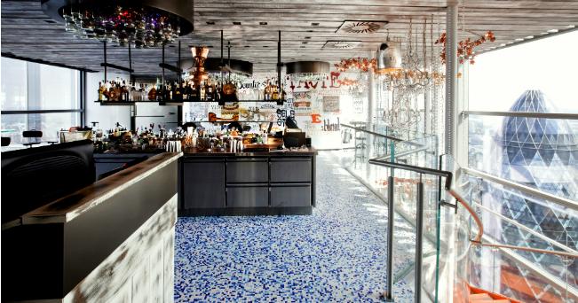 Londra 6 ristoranti con vista mozzafiato il sole 24 ore for Piani di costruzione di stand del ristorante