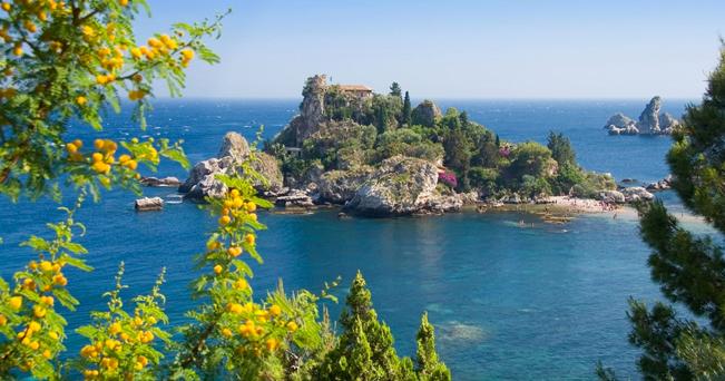 Taormina bel mare di settembre il sole 24 ore - La finestra sul mare taormina ...