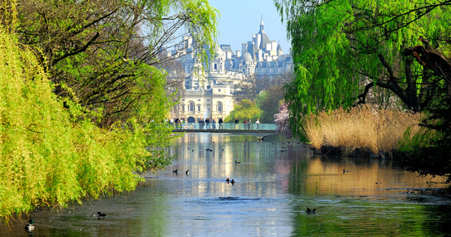 Veduta di St. James' Park (foto Peter Lane/Alamy/Milestone Media)