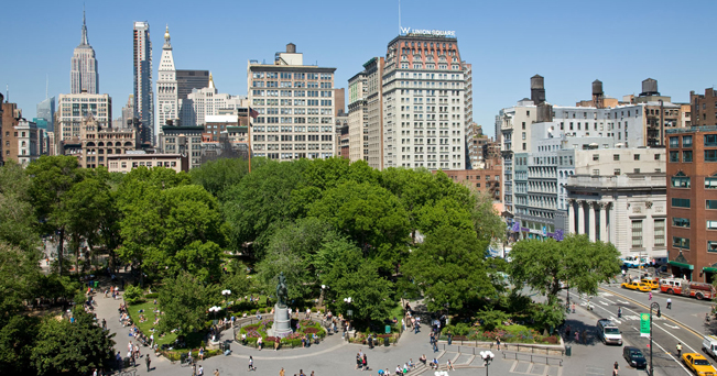 Union Square (foto Alamy/Milestone Media)